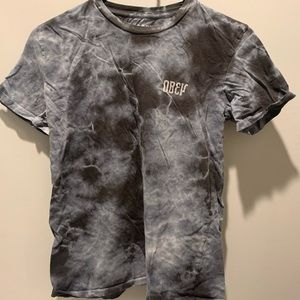 Grey Tye Dye Obey Shirt